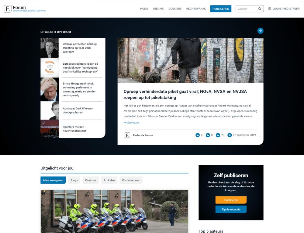 LawForum homepage