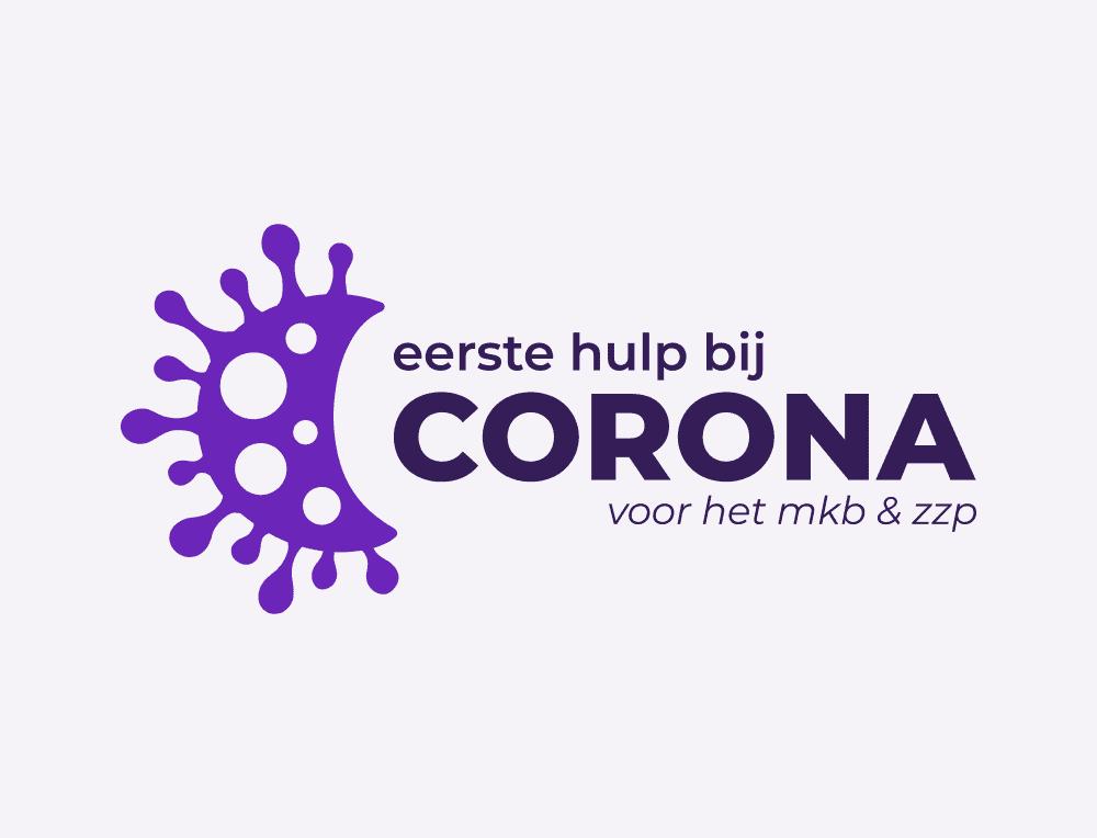Eerste hulp bij Corona logo